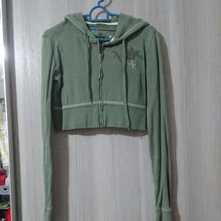 Fox Army Green Half Jacket For Sale