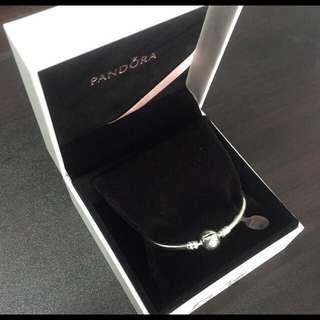 全新 潘朵拉PANDORA聖誕版手鍊手環
