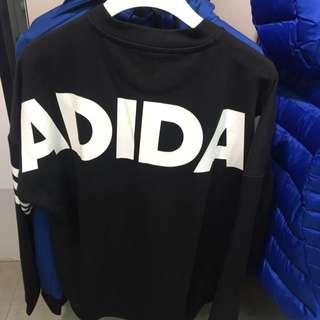 Adidas 大學 大Logo 男