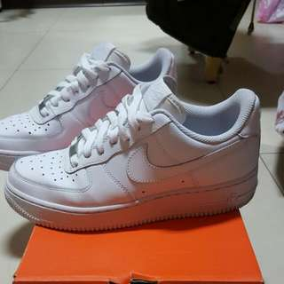 Nike Air force 全白/白force