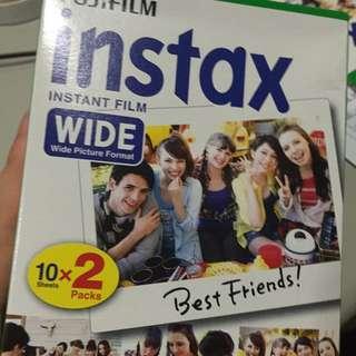 (暫售)拍立得底片 Insta Wide 20張