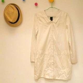 Gozo 刺繡長版衣