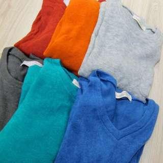 2件400🙊多色全素毛衣
