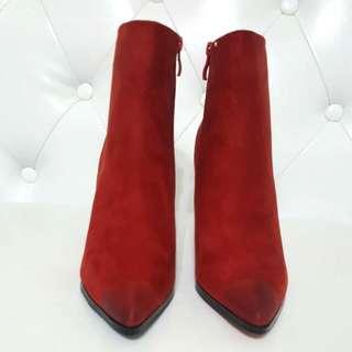 橘色短靴$1200