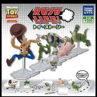 迪士尼 玩具總動員 火腿豬 扭蛋✨