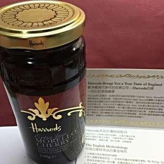 Harrods 摩勒絡 櫻桃果醬 英國百年老牌  市售480$