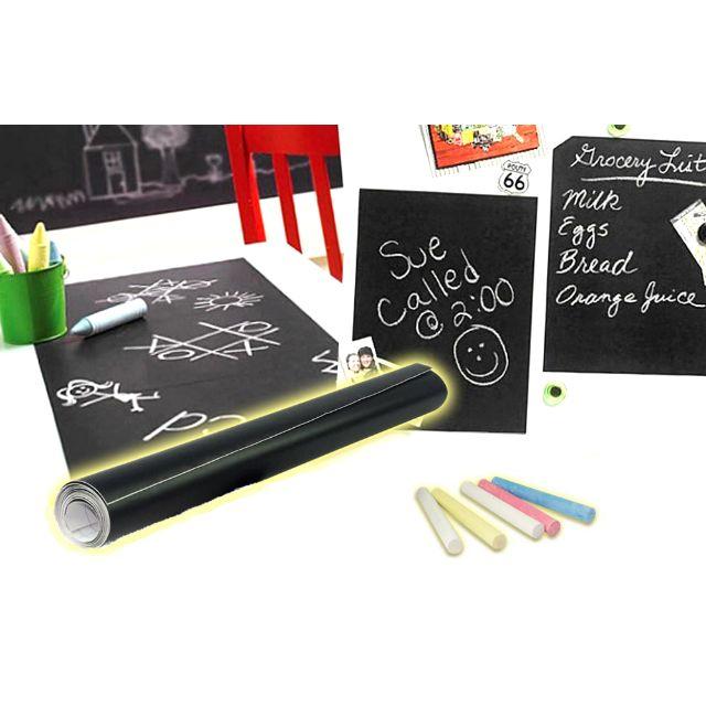 神奇創意無痕黑/白板貼-教學用、小孩塗鴉、開會用