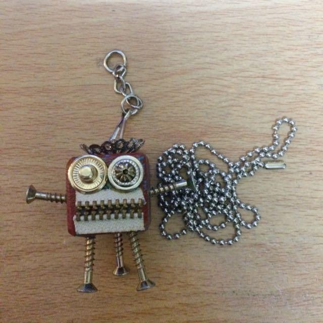 機器人吊飾