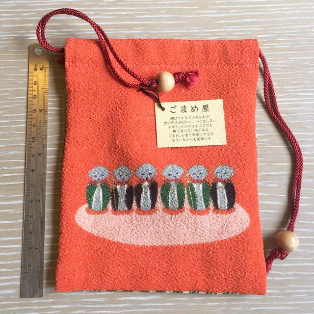 日本和尚小束口袋