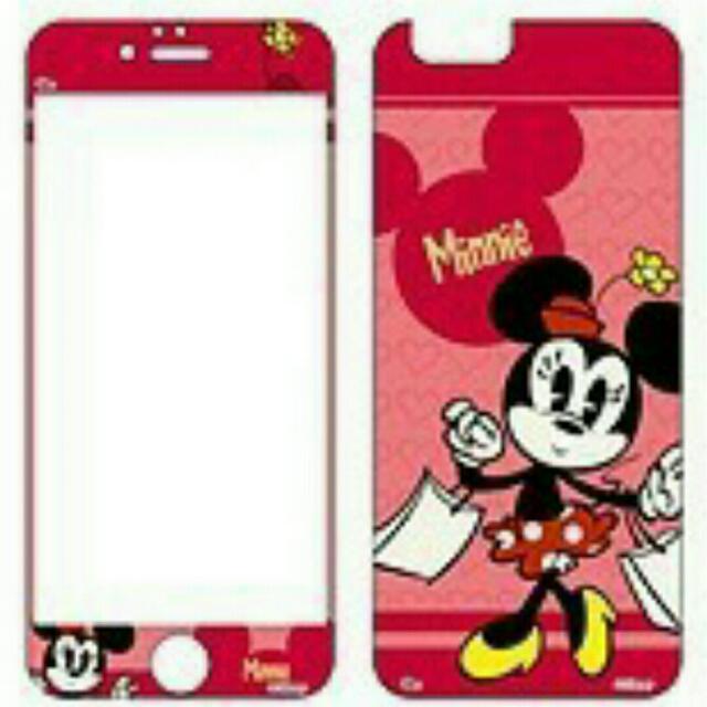 正版 新款 迪士尼 Iphone 玻璃保護貼 米奇 米妮