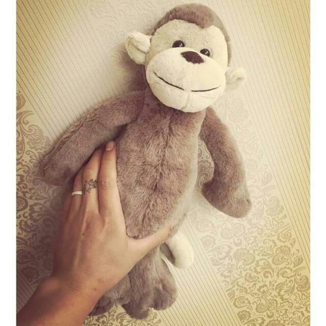 🐒 BASHFUL MONKEY 小猴🐒29cm可愛猴仔玩偶