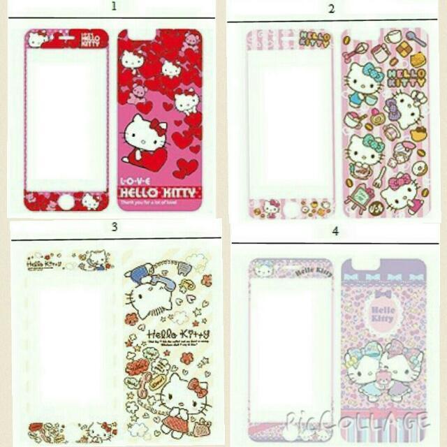 正版 Iphone 玻璃保護貼 Hello Kitty