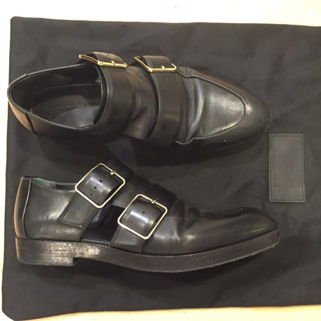 AUTHENTIC ALEXANDER WANG Cut-out Black Loafers