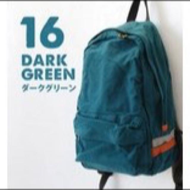 日本樂天Anello森林系簡約帆布後背包