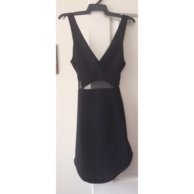 Black Size 8 Dress