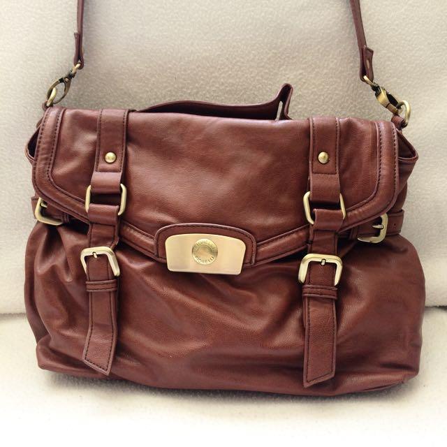 Brown Fiorelli Leather-look Satchel