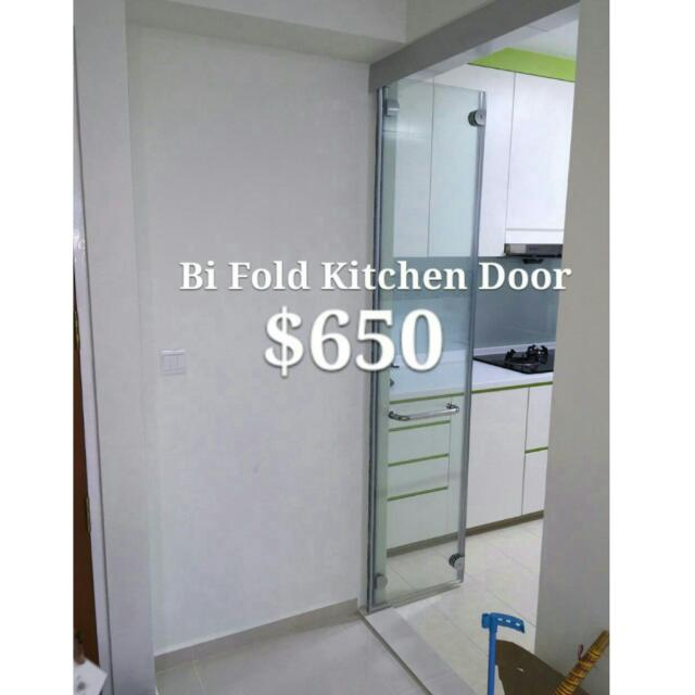 Fold Door Singapore & Bi Folding Doors Toilet Folding Door