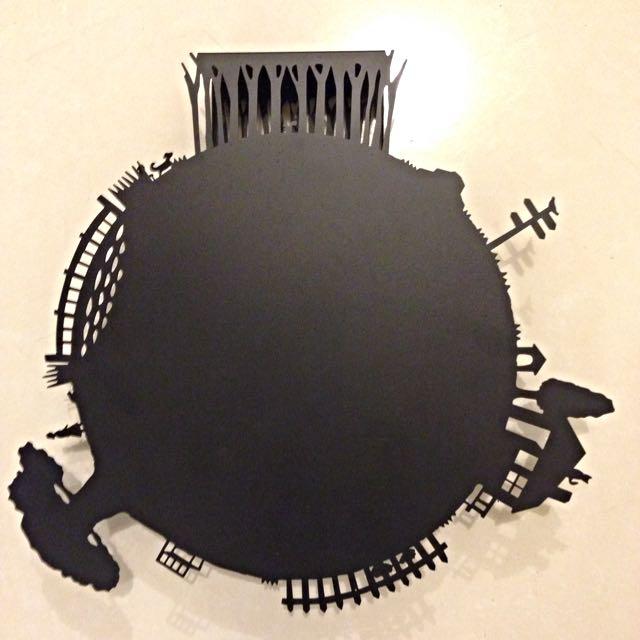 daily life clock設計人的時鐘