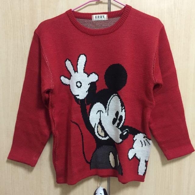 Disney 米奇針織衣