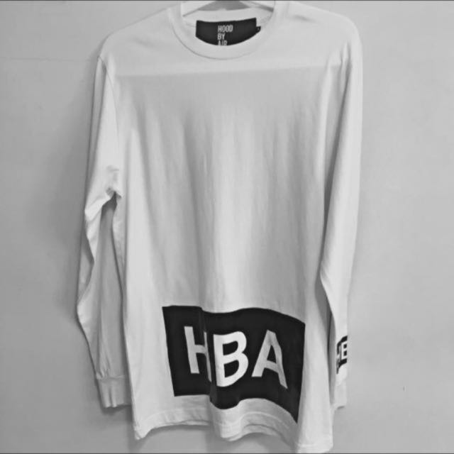 Hood By Air (HBA) Long Sleeves Tee