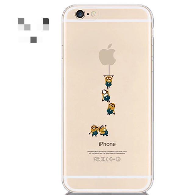 I Phone 6S手機軟殼4.7吋(垂吊小小兵團)