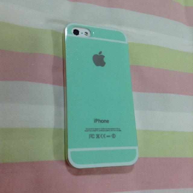 Iphone5/5s金沙Tiffany 綠手機殼
