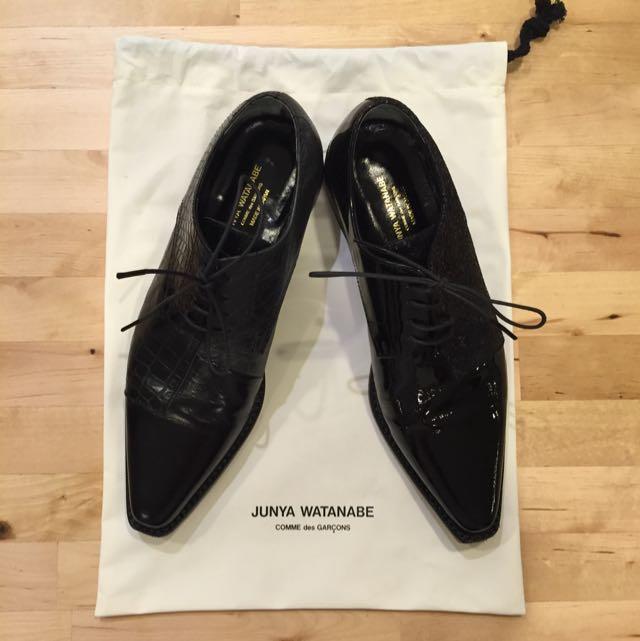 AUTHENTIC Junya Watanabe For Comme des Garçons Patchwork Shoe
