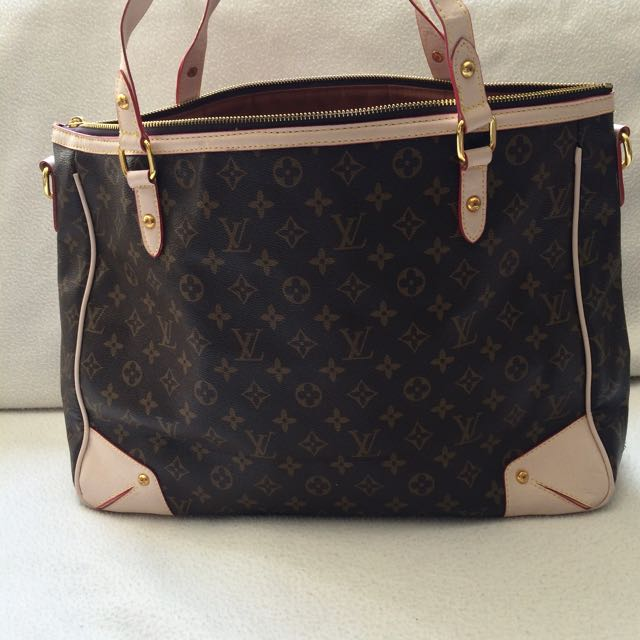 LOUIS VUITTON Replica Leather-look Oversized Shoulder Bag