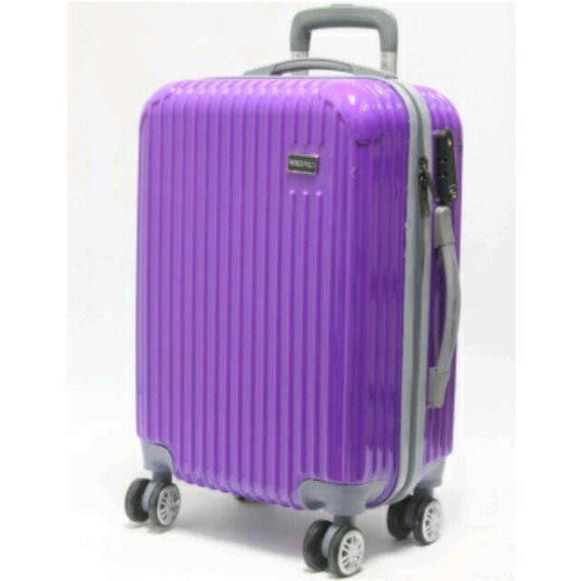 95cadf02 *LUGGAGE SALE* *LIMITED STOCK* Lightweight Fashionable Hardcase 4 Wheel  Spinner Luggage / Carry on / Suitcase / Travel Bag / TSA Lock, Everything  Else on ...
