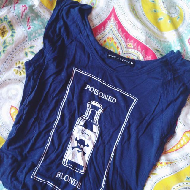 Neon Blonde Shirt