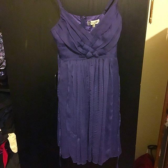 New Purple Cocktail Dress