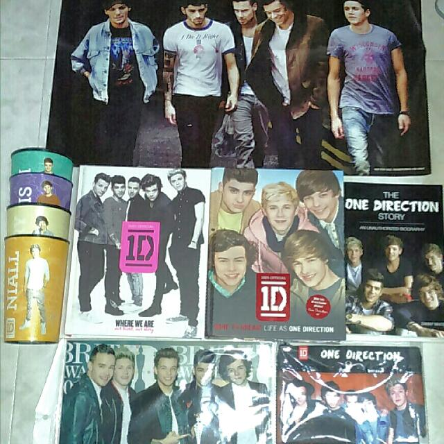 One Direction Merchandise, Bulletin Board, Looking For on