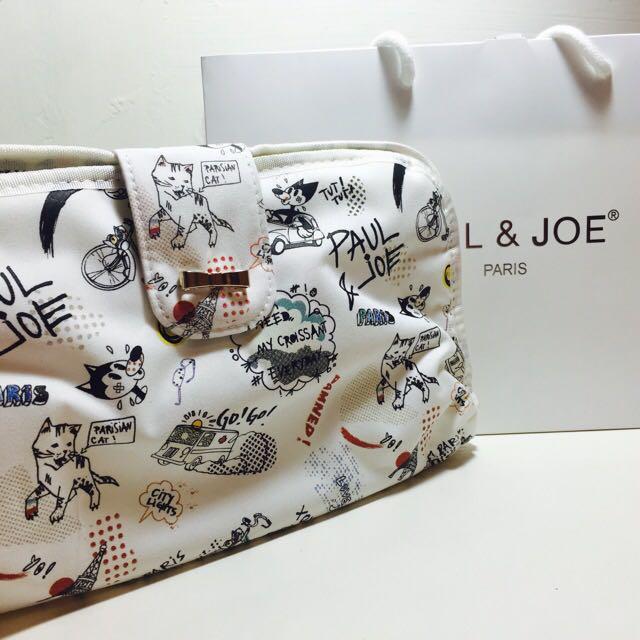 (含運)全新Paul&Joe旅行盥洗包---附束口袋及專櫃紙袋
