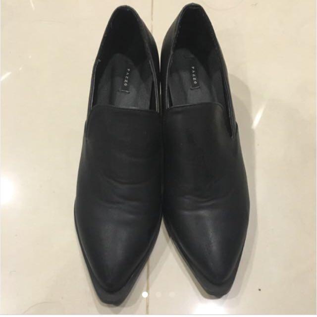 Pazzo 短跟鞋 修長款 鞋 靴