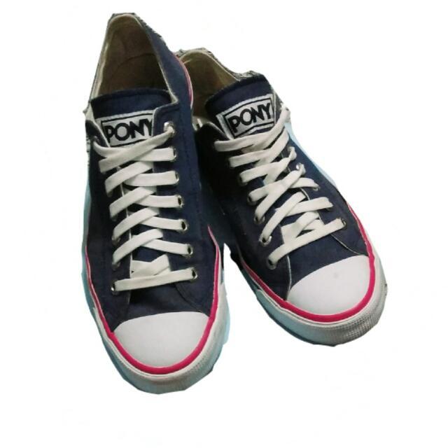 🍄PONY帆布鞋