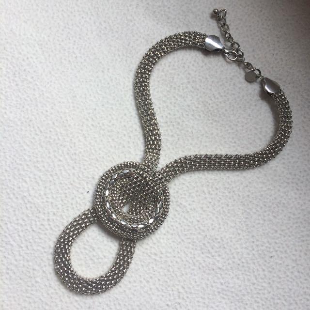 Silver Lovisa Statement Necklace