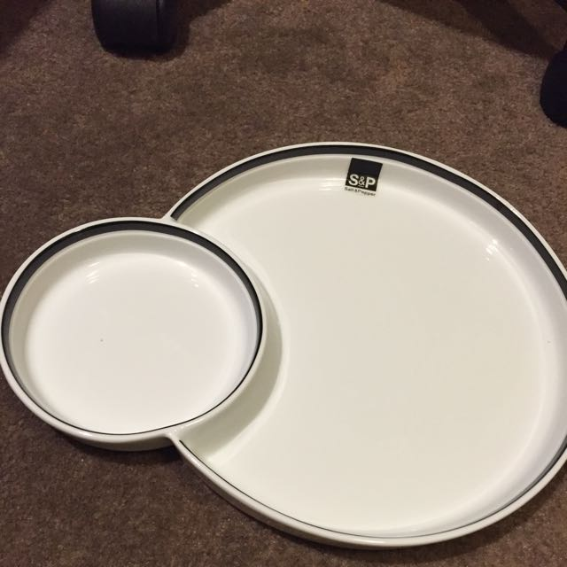 S&P Chip And Dip Platter