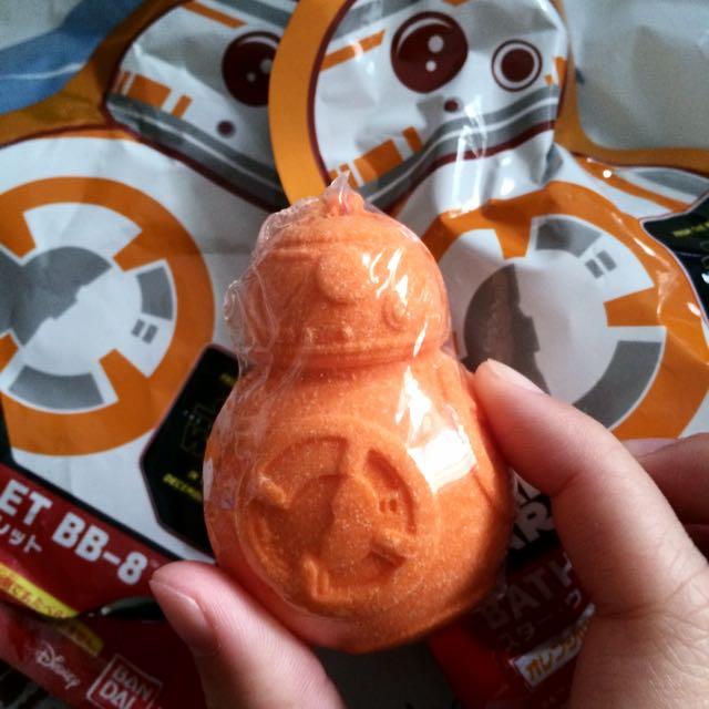 星際大戰Star Wars:BB-8 造型泡澡粉