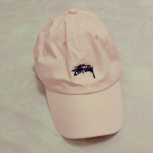 待匯)stussy老帽 粉色
