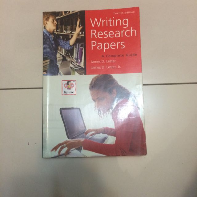 二手-Writing Research Paper 研究方法與寫作
