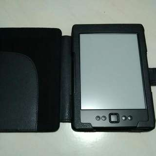Kindle Gen 4 + Leather Case