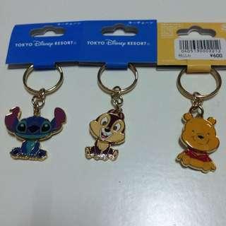 日本東京迪士尼購入鑰匙圈