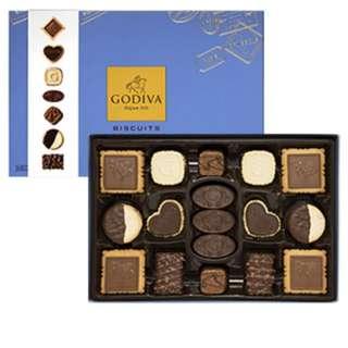 Godiva 精選巧克力餅乾『✨大降價售✨』禮盒36片裝 市售1560$