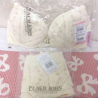 Peach John內衣ㄧ套