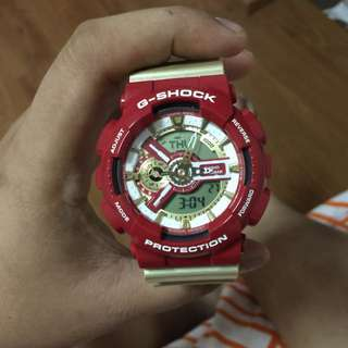 G-shock Red & Gold (pending)