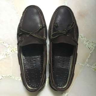 Sperry 1-eye Leather Dark Brown Boat Shoes