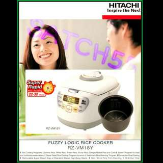 Rice Cooker HiTACHi 1.8L [Brand NEW]