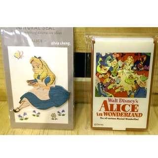愛麗絲夢遊仙境立體貼折疊隨身鏡兔子妙妙貓們共進午茶茶包組全部帶走$650含店到店唷!