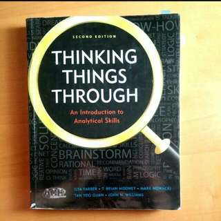 Thinking Things Through, AS Textbook, 2nd Edition