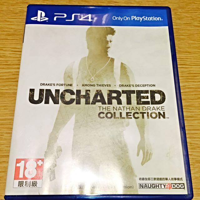 PS4秘境探險1,2,3合輯(中午版)